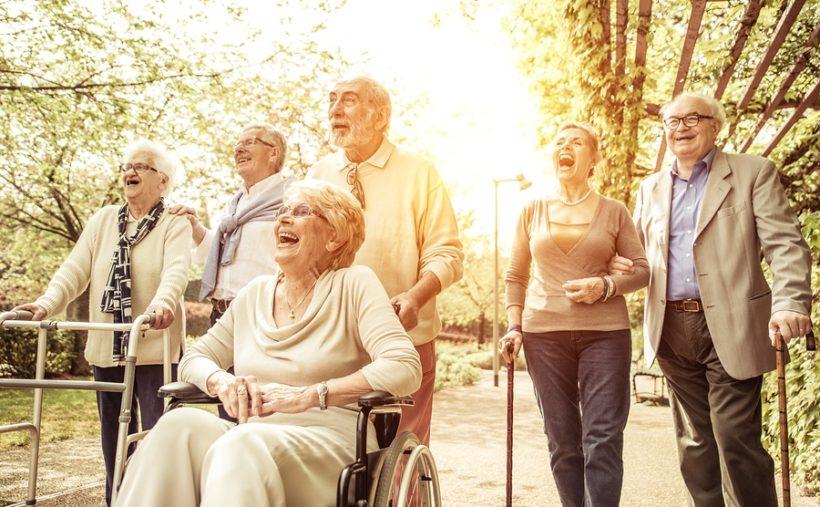 Lebensfreude auch im Alter