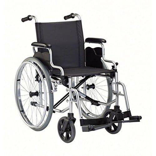 Rollstuhl Dietz Tokin - Standard Faltrollstuhl mit Alurahmen (Foto: Amazon)
