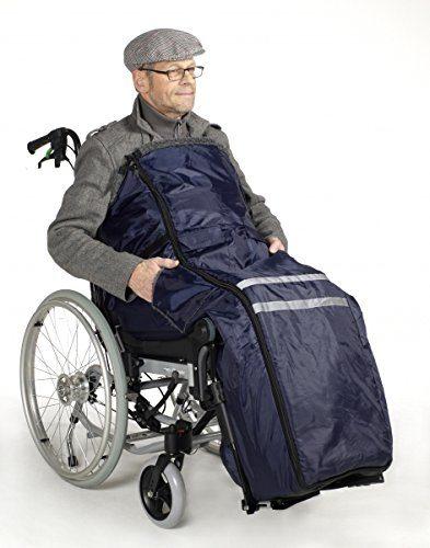 Zubehör für Rollstuhlfahrer: Warmes Innenfutter und geschützt vor Wind und Wetter