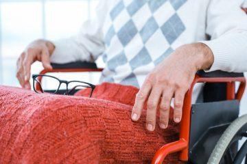 Schlupfsack für Rollstuhlfahrer – Rollstuhlsack für die kalte Jahreszeit
