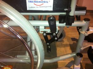 Trendmobil Rollstuhl TMB Faltrollstuhl Seitenansicht