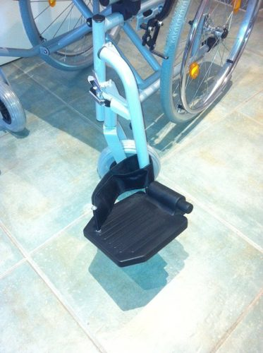 Trendmobil Rollstuhl TMB Faltrollstuhl Fussstütze