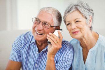 altersgerechte Mobiltelefone für Senioren