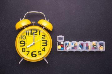 Tablettenbox mit Timer und Alarmfunktion