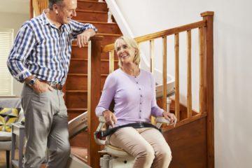 Treppenlifte von Acorn – Unanbhängig & mobil in den eigenen 4 Wänden