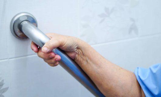 Haltegriffe Bad für Senioren