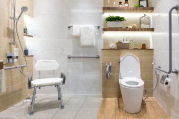 Barrierefreies seniorengerechtes Badezimmer errichten