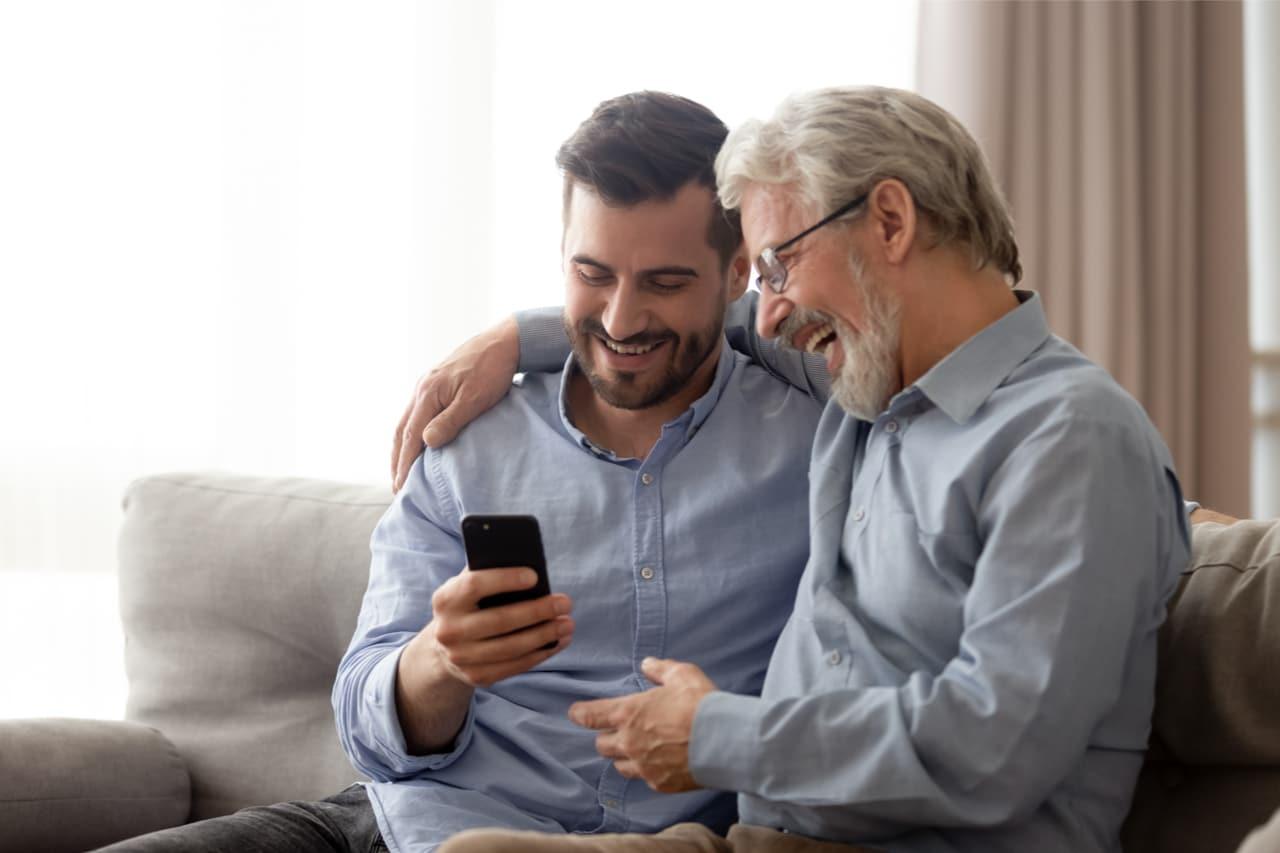 GPS Ortung von Senioren mit Notruftaste