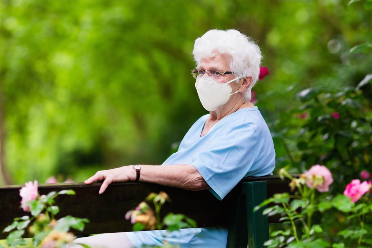 covid 19 - Gefahr für älteren Mitbürger