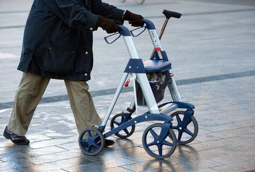 Rollator für große und/oder übergewichtige Senioren
