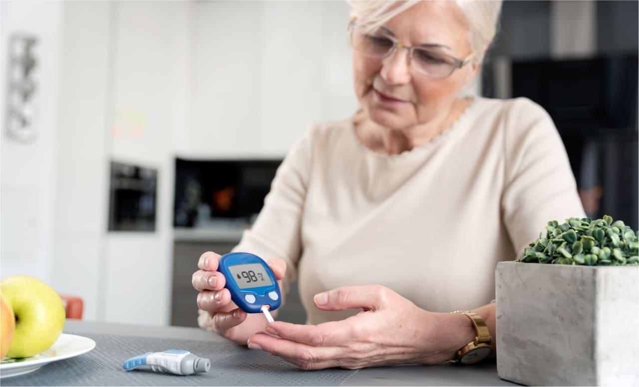Blutzuckermessgeräte für Senioren