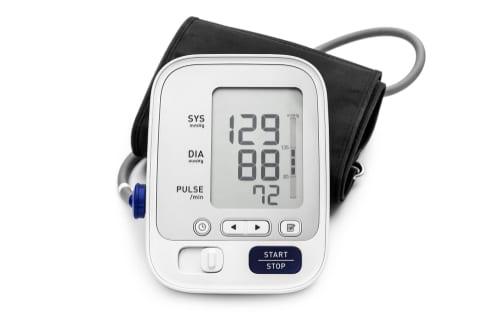 Blutdruckmessgerät mit Armmanschette für den Orberarm