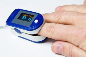 Pulsoxymeter – Fingerpulsoximeter zur Messung der Sauerstoffsättigung