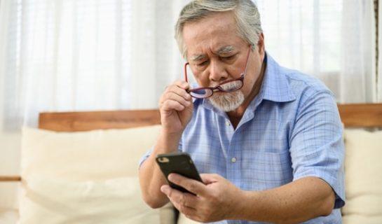Seniorentelefon mit Fototasten
