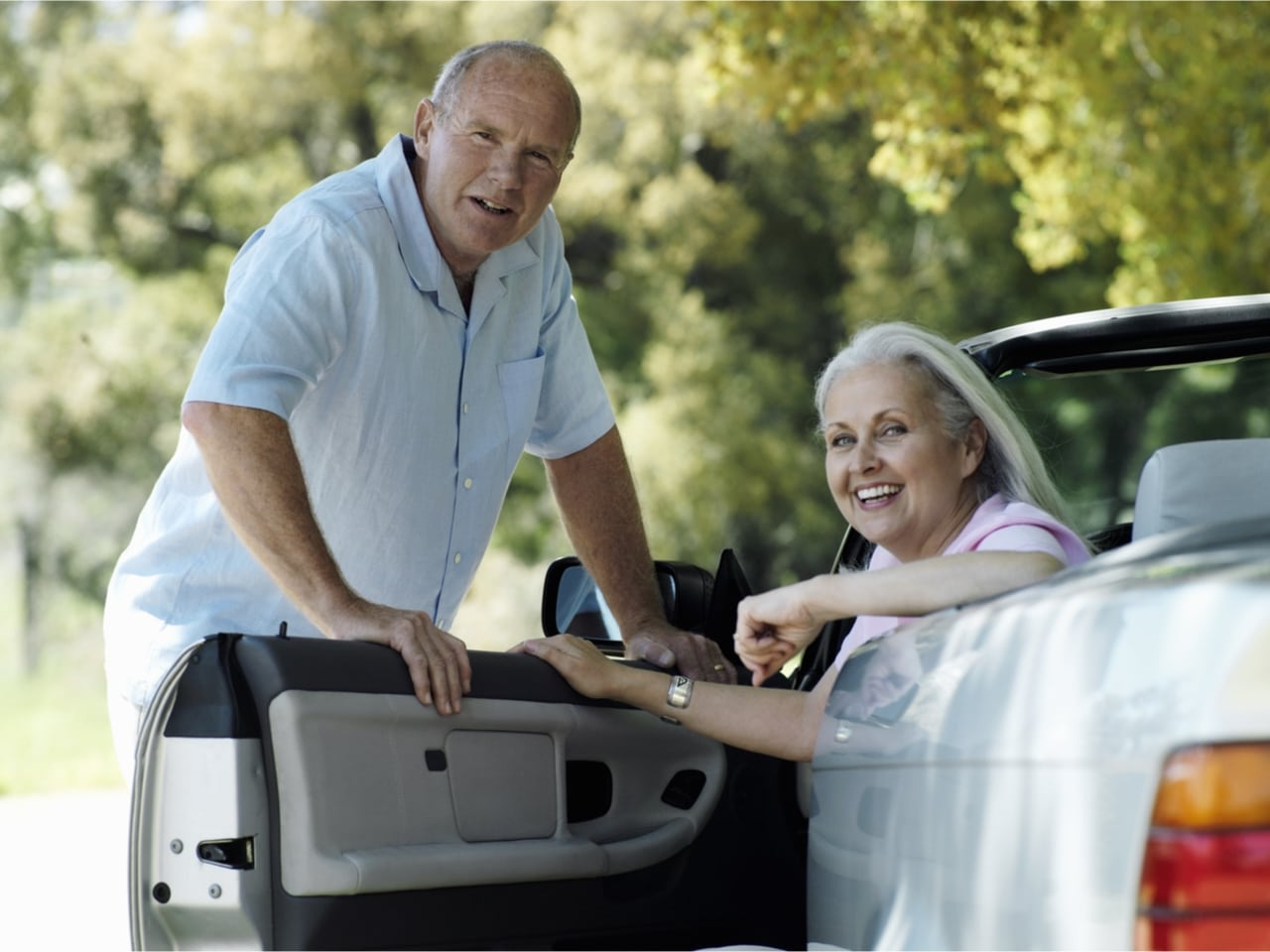 Hilfmittel für Senioren - Drehkissen für Autositze