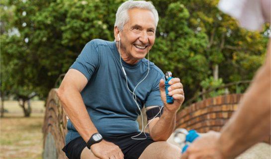 Fingertraining und Grifftraining für Senioren