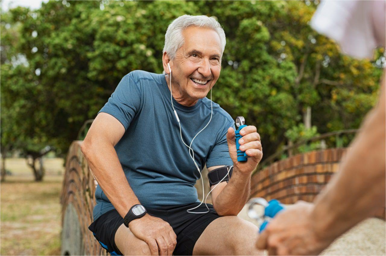 Grifftraining für Senioren
